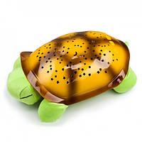 Музыкальный ночник-проектор, звездное небо черепашка Turtle Night Sky Green (ZOSTURTLE Green), фото 1