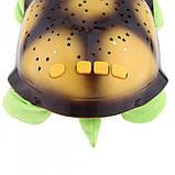 Музыкальный ночник-проектор, звездное небо черепашка Turtle Night Sky Green (ZOSTURTLE Green), фото 3