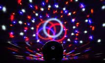 Диско шар Magic Ball Super Music Light с кнопками, фото 2