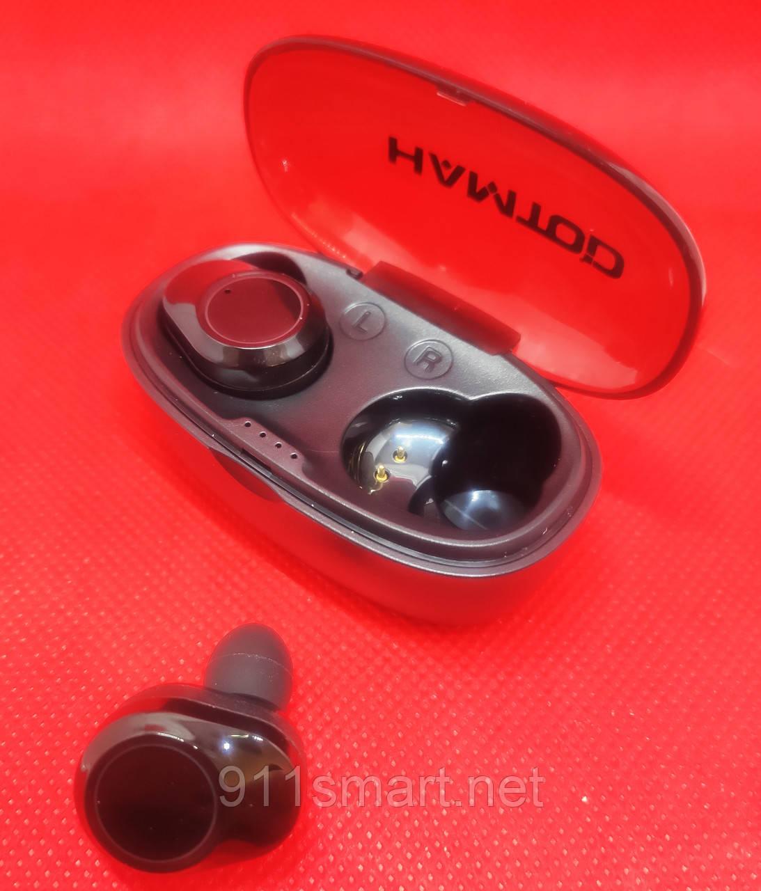 HAMTOD G05 TWS Bluetooth 5.0 Наушники Stereo Smart Touch Type-C Зарядк