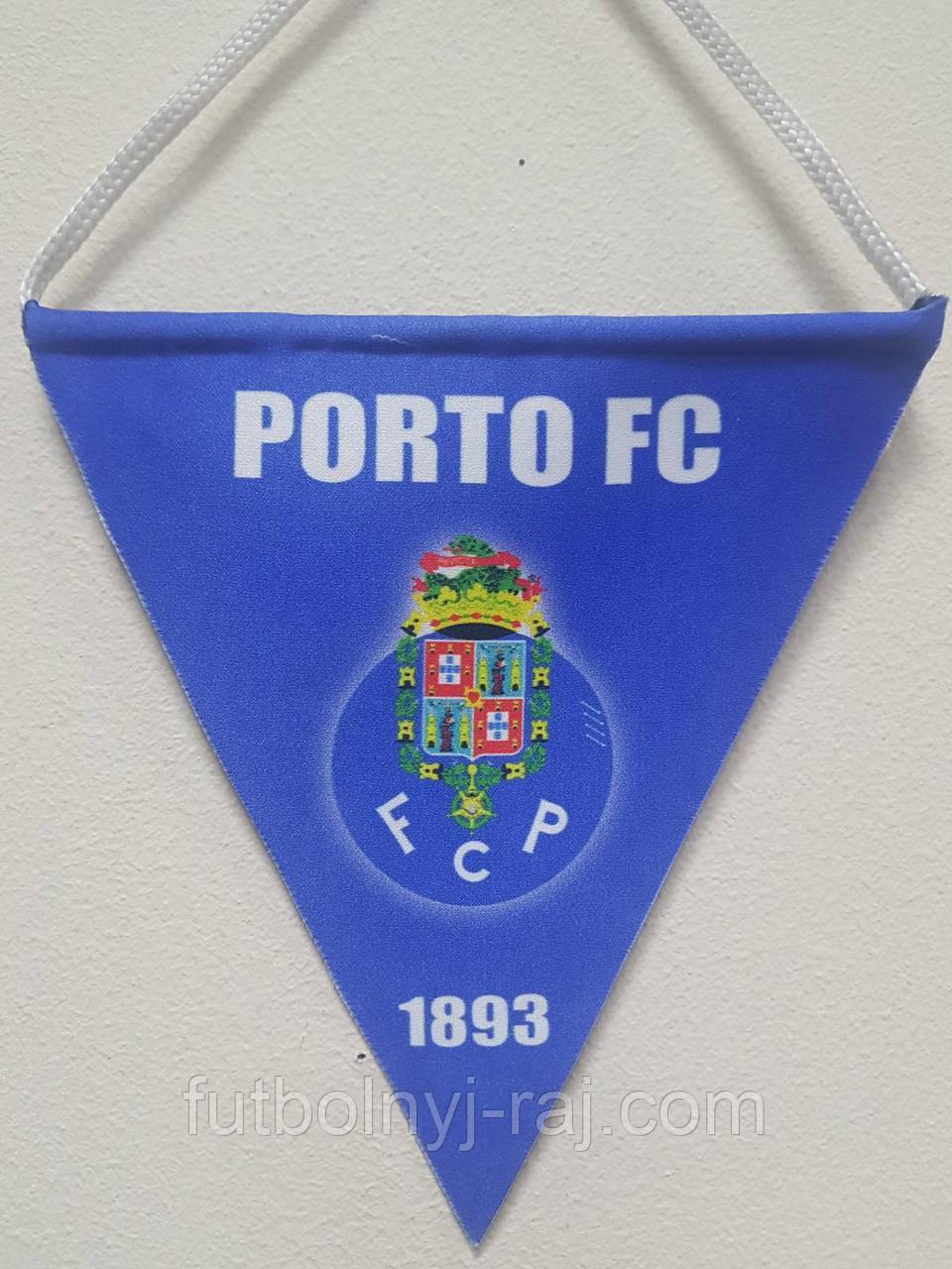 Вымпел  футбольный с изображением герба FC Porto
