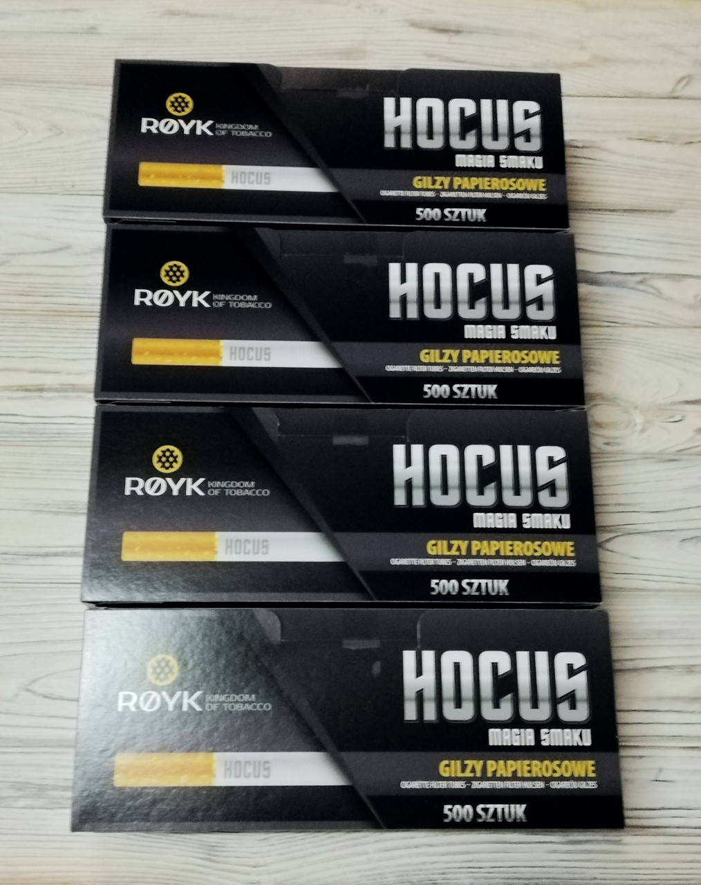 Сигаретные гильзы хокус 2000шт. HOCUS Супер цена