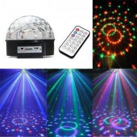 Диско шар Magic Ball Super Music Light с кнопками