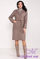 Зимнее женское пальто с поясом (р. S, М, L) арт. Ф-81-38/44113
