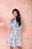 Платье рюши в расцветках 523131, фото 3