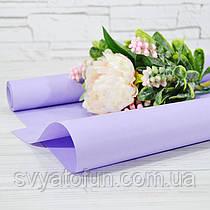 Бумага флористическая 005 лаванда