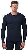 Термоджемпер мужской (термокофта) Kifa Wool Comfort темно синий