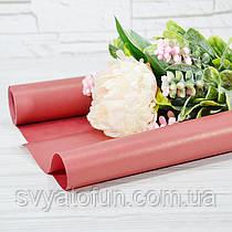 Бумага флористическая 009 красный