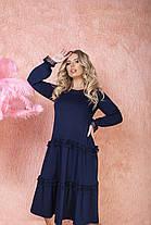 Сукня БАТАЛ вільний у кольорах 523130А, фото 3