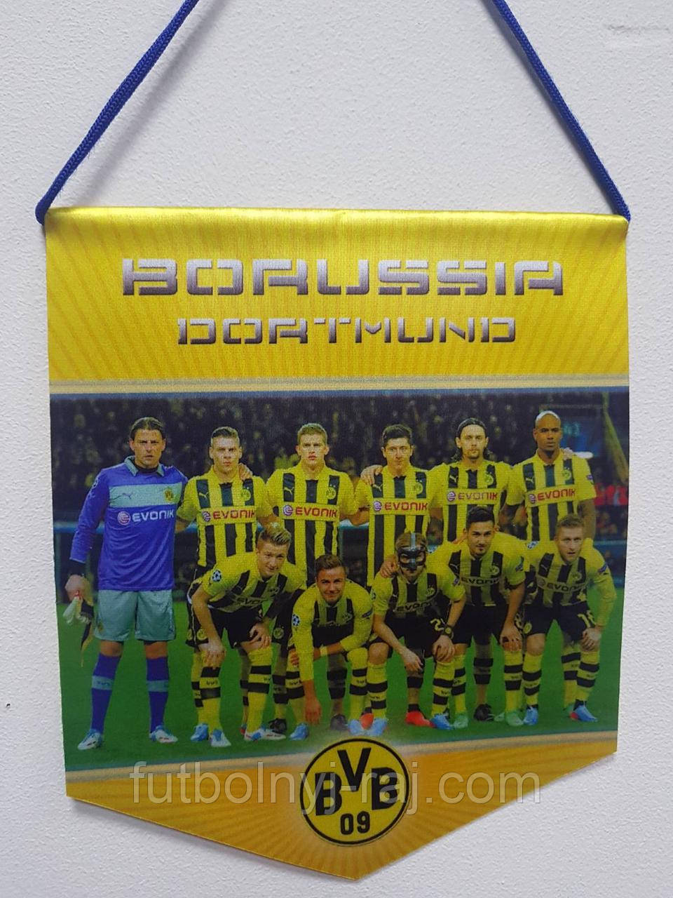 Вимпел футбольний Borussia Dortmund.