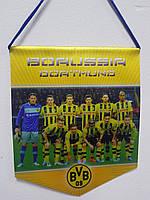 Вымпел футбольный Borussia Dortmund.