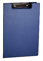 Папка планшет А4 с зажимом 4OFFICE 4-258 PVC синяя