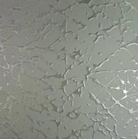Узорчатое рифленное стекло Вулкан бесцветный 4мм