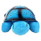 Музыкальный ночник-проектор, звездное небо черепашка Turtle Night Sky Blue (ZOSTURTLE Blue), фото 2