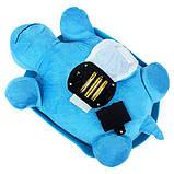 Музыкальный ночник-проектор, звездное небо черепашка Turtle Night Sky Blue (ZOSTURTLE Blue), фото 6