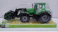 Трактор 0488-4000488-500 722 с инерцией, в слюде - 220769