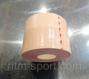 Кинезио тейп бежевый для тела, лица и шеи (5 * 500 см), фото 2