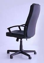 Кресло Атлас HB механизм MB кожзаменитель PU чёрный., фото 3