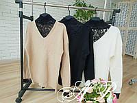 Женский тёплый свитер (3 цвета)