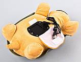 Музыкальный ночник-проектор, звездное небо черепашка Turtle Night Sky Yellow (ZOSTURTLE песочная), фото 4