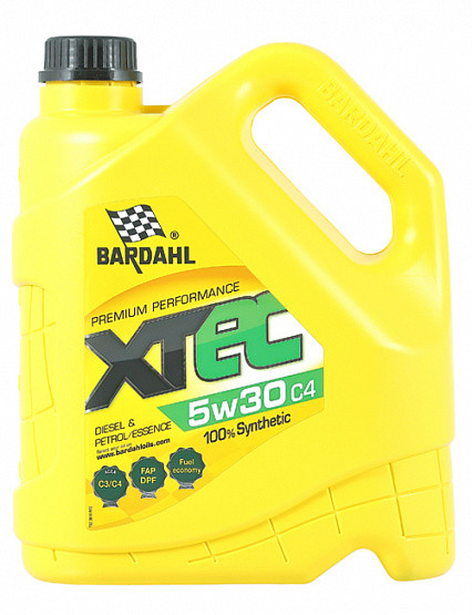 Моторное масло BARDAHL XTEC 5W30 C4 (4л)