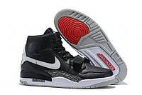 """Баскетбольные кроссовки Nike Air Jordan Legacy 312 """"Black White"""""""