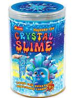 Наукова гра Crystal slime Кришталева (синя) (Укр) | Ranok-Creative