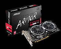 Видеокарта MSI Radeon RX 480 ARMOR 4G OC б/у
