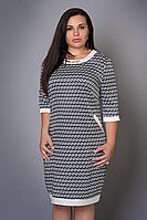 Платье женское модель №481-3, размеры 46-48,48-50,50-52,52-54,54-56 фенди  (А.Н.Г.)