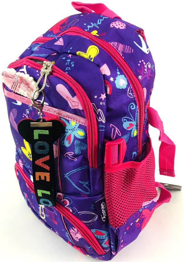 """Качественный подростковый школьный рюкзак """"lovelo"""" 69914"""