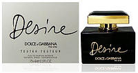 Женские духи Tester - Dolce & Gabbana The One Desire 75 ml реплика