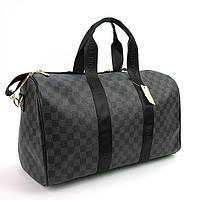 Сумка дорожная кожа PU серая Louis Vuitton 41412-3, фото 1