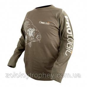 Футболка PROLOGIC CARP T-SHIRT LONG GREEN