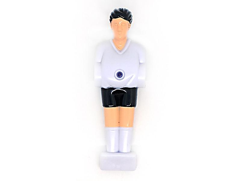 Футболист для настольного футбола 12.7мм белый