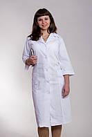 Медицинский женский халат длинный 2101 (  батист 48-60 р-р )