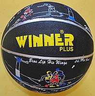 М'яч баскетбольний № 7 Winner Plus гумовий