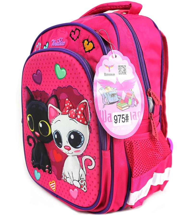"""Школьный рюкзак для девочки """"Wanxiniao"""" 975D"""