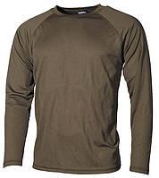 Термобелье MFH Рубашка , Level I GEN III олива