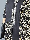 Женская туника NadiN 1488 2 60 р Черная с тигровым принтом 1488260, КОД: 1266900, фото 6