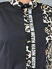 Женская туника NadiN 1488 2 60 р Черная с тигровым принтом 1488260, КОД: 1266900, фото 7