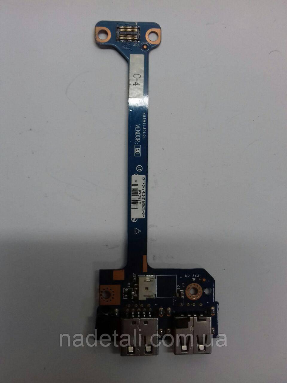 Плата USB HP m6-1000 series LS-8714P