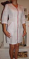 Универсальный медицинский халат батист 2196 ( 42-60 р-р ), фото 1