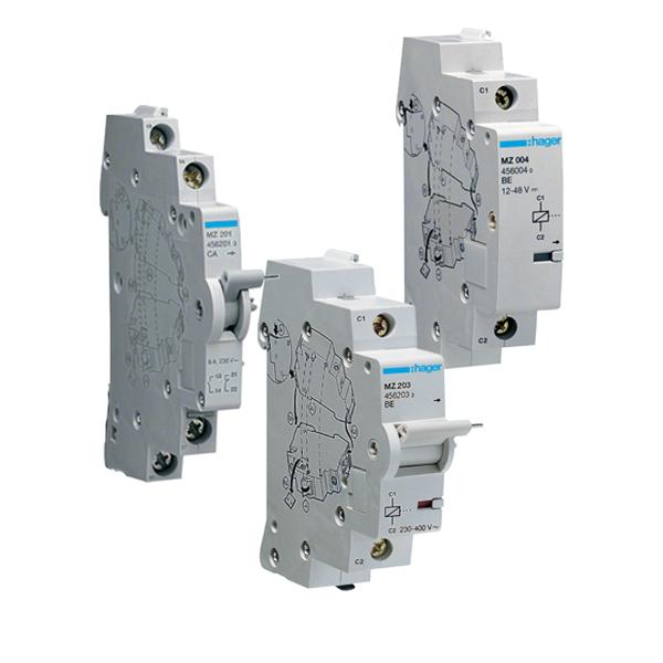 Аксессуары для модульных автоматических выключателей Hager