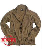 Кофта термофлис Mil-Tec COYOTE TACTICAL SHIRT THERMOFLEECE
