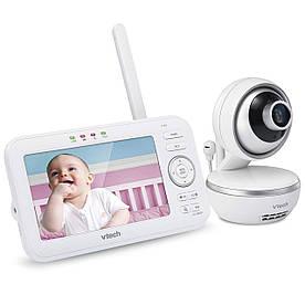 """Відеоняня з дистанційним поворотом камери, колисковими та екраном діагоналлю 5 (цифрова)"""" """"Vtech"""" VM5261"""