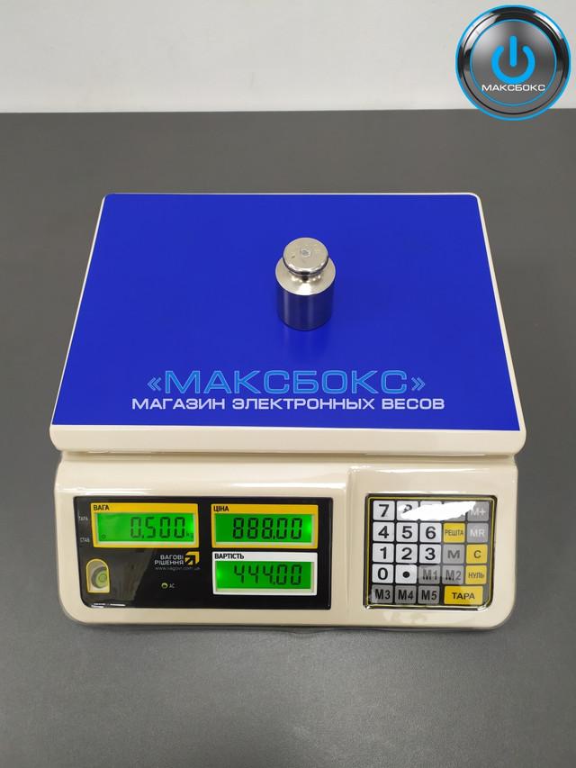 Торговыенастольные весы до 15 кг с поверкой – PC 15 T