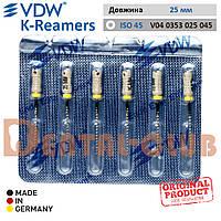 VDW K-Reamer (К-ример ВДВ) 25 мм, ISO 45