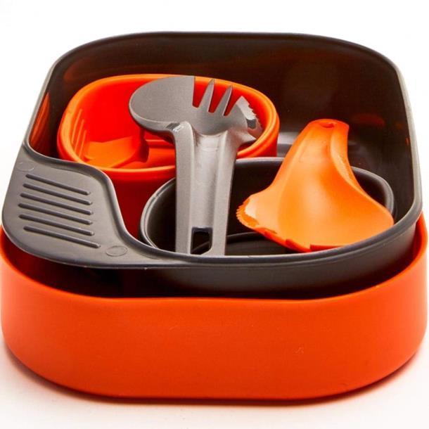 Набор для 2 человек Wildo® CAMP-A-BOX® DUO Light - Orange / Dark Grey A (ID 6657)
