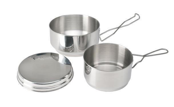 Набор посуды Helikon-Tex из нержавеющей стали (3 предмета) ME-MEN-SS