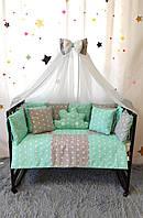 Детский постельный комплект в кроватку